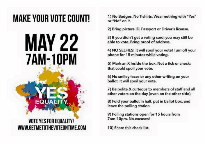 How to Vote Friday May 22