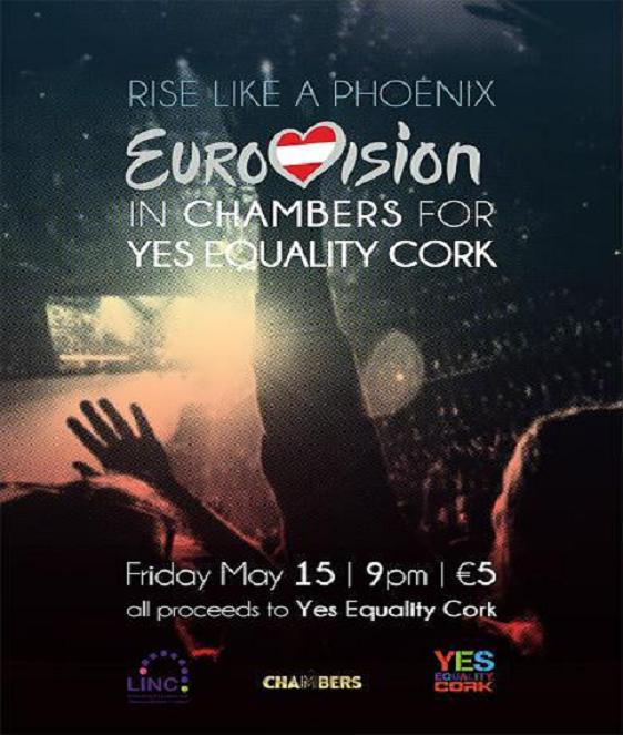 Eurovision for Yes Equality Cork poster